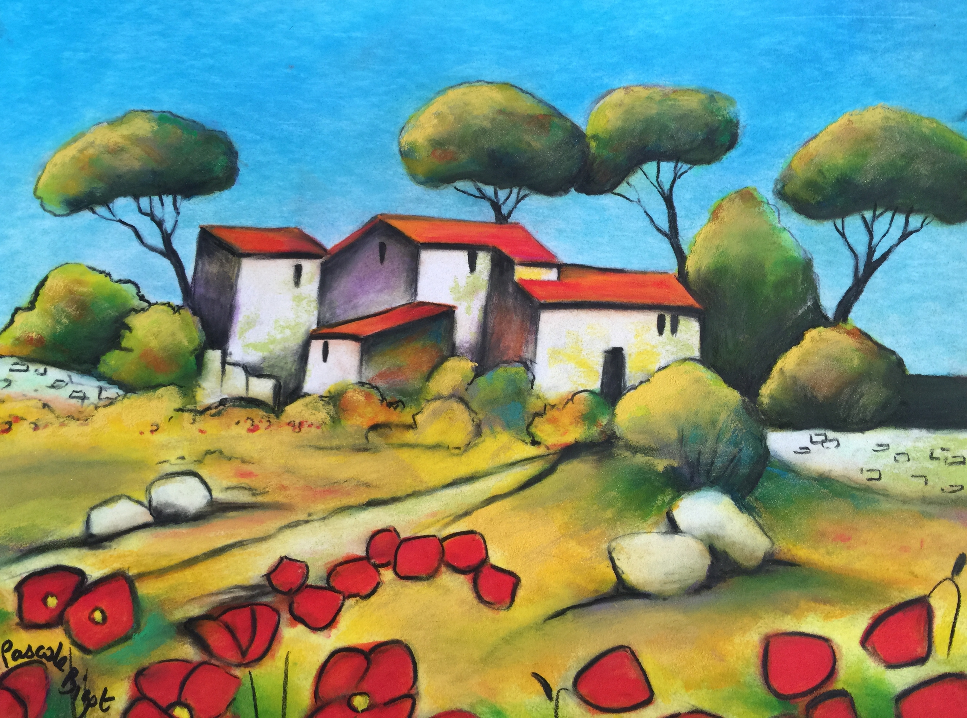 Village en Provence (sold)