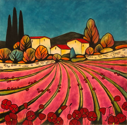 Lavandes roses en Provence (£375)