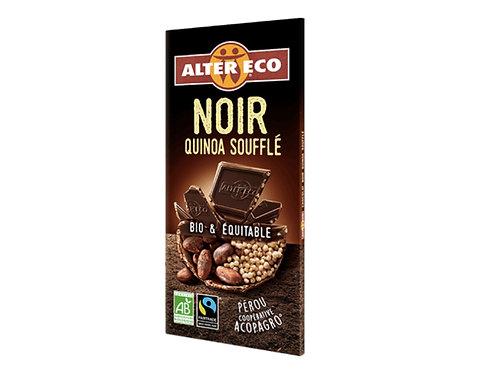 秘魯香脆有機藜麥黑巧克力(100克)Dark Chocolate puffed Quinoa Peru (100g)