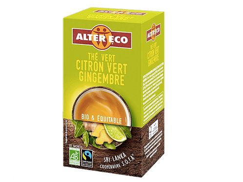 薑綠茶(40g)Green Tea with Ginger and Lime (40g)