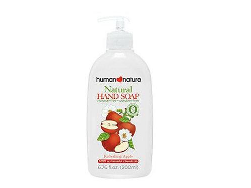 human nature清新蘋果天然洗手皂液200毫升 Nature Hand Soap - Refreshing Apple - 200ml