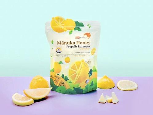 加維 UMF15+級蜂蜜喉片檸檬味40粒 Kiwi UMF15+ MANUKA HONEY & PROPOLIS LOZENGES (LEMON)