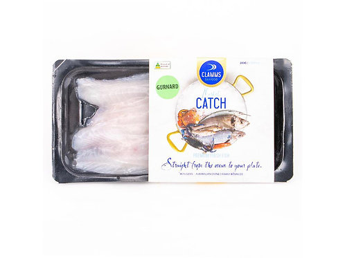 澳洲無皮魴魚柳280g/包   Aus. CLAMMS SEAFOOD Gurnard Fillets Skin Off 280g/pack