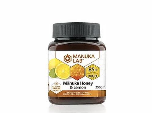Manuka Lab MGO85+ / UMF 5+ 麥蘆卡蜜糖 + 檸檬味蜜糖 250g Manuka Lab - MGO 85+ Manuka Honey