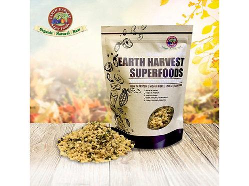 有機生機大麻籽仁 (無麩質) 165g Earth Harvest SuperfoodsRaw & Organic Hulled Hemp Seed (GF)