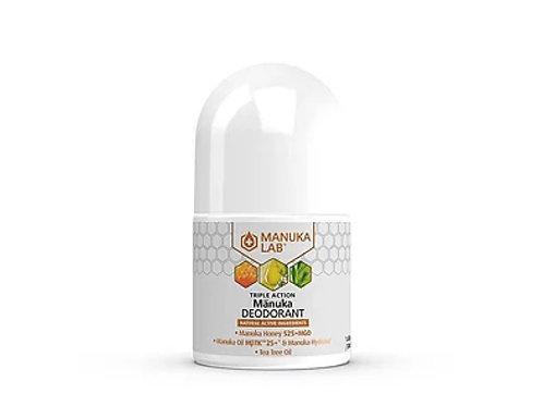 Manuka Lab 止汗劑 - 麥蘆卡蜂蜜、麥蘆卡精油、茶樹精油 50ml MANUKA TRIPLE ACTION Deodorant