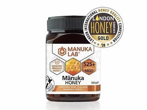 Manuka Lab MGO 525+ / UMF 15+ 麥蘆卡蜂蜜 500g Manuka Lab - MGO 525+ Manuka Honey