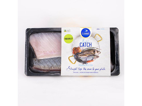 澳洲有皮鰺魚柳280g/包    Aus. CLAMMS SEAFOOD Trevally Fillets Skin-On, 280g/pack