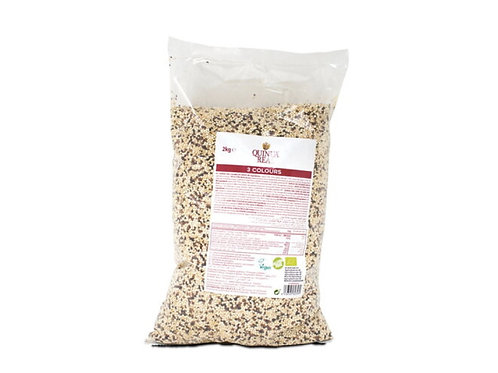 有機皇家三色藜麥米 (2公斤)  Organic Tricolour Quinua Real® (2 kg)