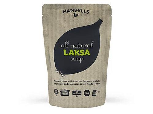 Hansells 全天然湯(叻沙, 400克)  Hansells All Natural Soup (Laksa, 400g)