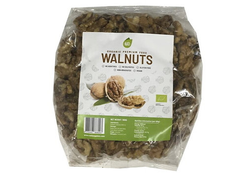 NATI 有機生核桃(500克) NATI Raw Walnuts Organic (500g)