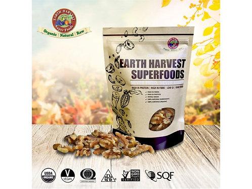 有機生機合桃/核桃 (無麩質)Earth Harvest Superfoods Organic & Raw Walnuts (Gluten Free)