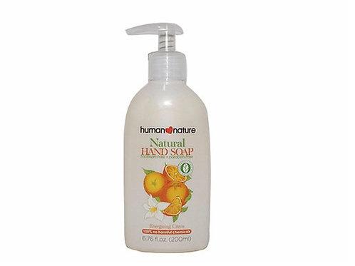 human nature活力柑橘天然洗手皂液200毫升 Nature Hand Soap - Energising Citrus - 200ml