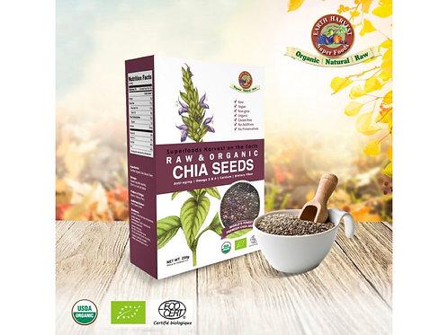 有機生機奇異籽/奇亞籽 (無麩質) 250g Earth Harvest Superfoods Raw & Organic Chia Seeds (GF)