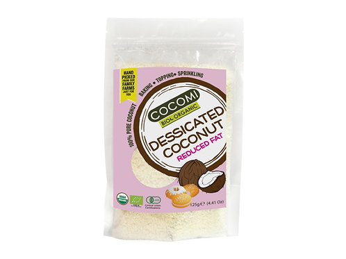 COCOMI 脫水椰絲-低脂(125g) COCOMI Desiccated Coconut - Reduced Fat (125g)