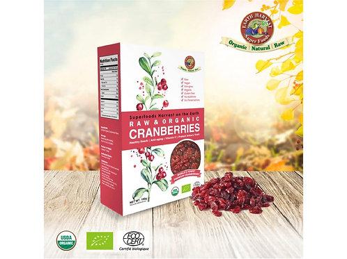 有機生機小紅莓乾(無麩質) Earth Harvest Superfoods Raw & Organic Dried Cranberries (GF)