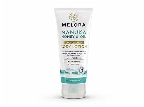 MELORA 雙重身體潤膚露 - 麥蘆卡蜂蜜、麥蘆卡精油 200ml Double Action Manuka Body Lotion