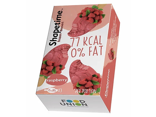 SHAPETIME低卡零脂肪紅莓雪葩 3件裝(素食主義者) SHAPETIME Stick Raspberry Frozen Dessert (Vegan)