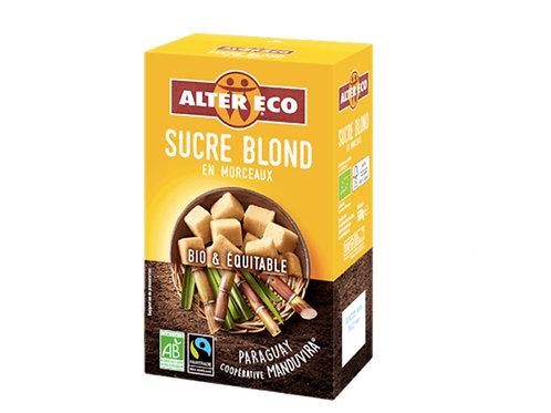 未精製的蔗糖糖塊(500g) Raw Sugar Cane Cubes (500g)