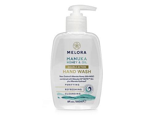MELORA 雙重護手霜 - 麥蘆卡蜂蜜、麥蘆卡精油 250ml MELORA Double Action Manuka Hand Wash
