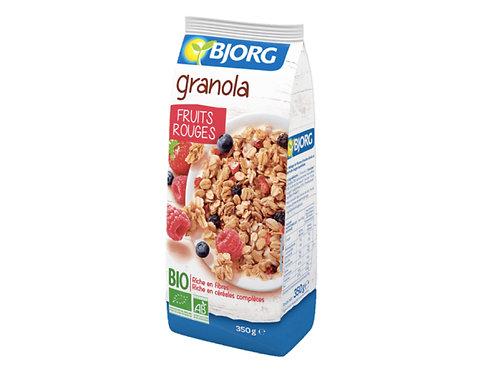 有機格蘭諾拉麥片配紅色水果(350g)Organic Granola with Red Fruit (350g)