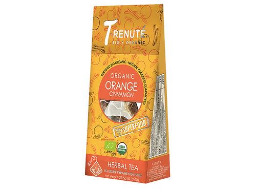 T-Renute有機肉桂橙泡茶(22.5克) T-Renute Organic Cinnamon Orange Infusion (22.5g)
