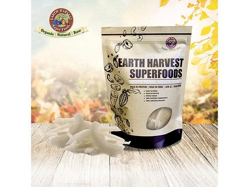 有機生機椰子片 (無麩質) 125g Earth Harvest SuperfoodsRaw & Organic Coconut Slices (Gluten