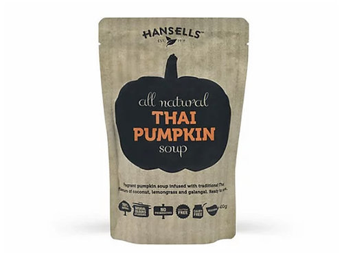 Hansells 全天然湯(泰國南瓜,400克)Hansells   All Natural Soup (Thai Pumpkin, 400g)