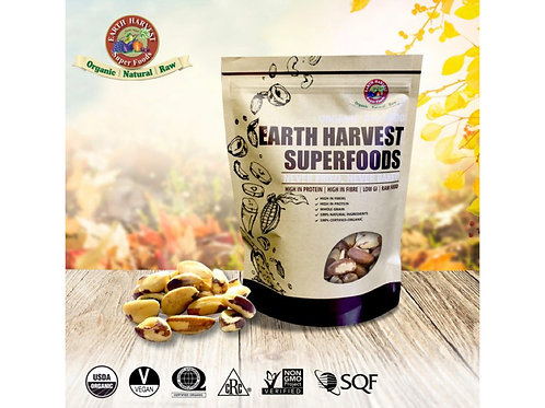 有機生機巴西果仁 (無麩質) Earth Harvest Superfoods Organic & Raw Brazil Nuts (Gluten Free)