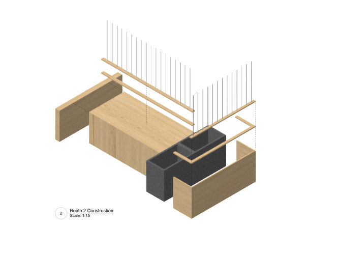 Proposed Construction of Booth 2