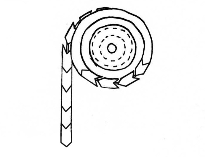 Hanging Mechanism Detail