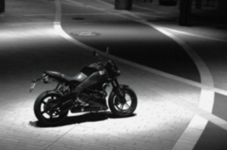 お洒落なバイク