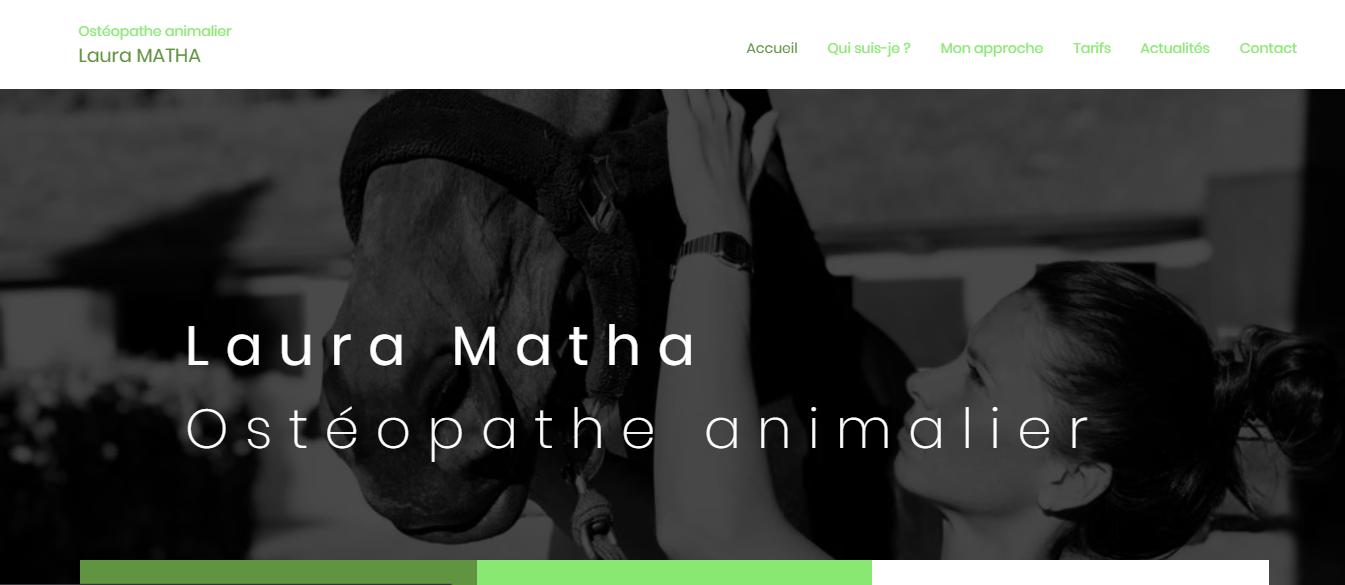 Laura Matha - Ostéopathe Animalier