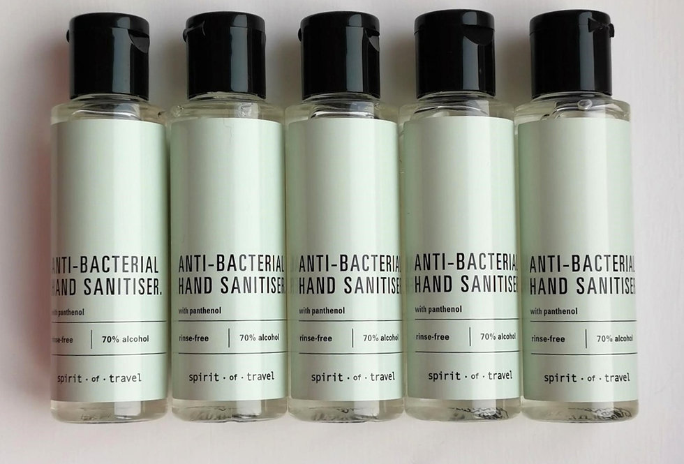 5x Signature Hand Sanitiser, 50ml Multipack