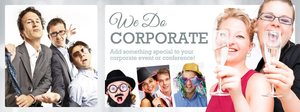 corporate photo booth rental