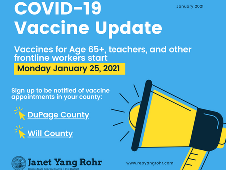 Coffee & Conversation, COVID-19 Vaccine and Other Updates