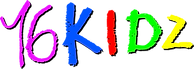 16KIDZ Logo CON Color RELLENO CON SOMBRA