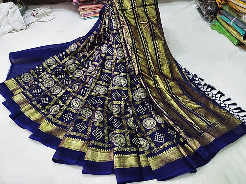 New Exclusive Cotton Traditional Saree