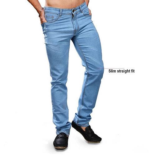 Light Blue slim Fit men's Jean's