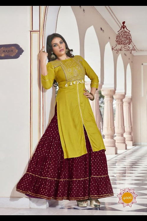 NEW ARRIVALS IN PARTY WEAR KURTIS* vol 4