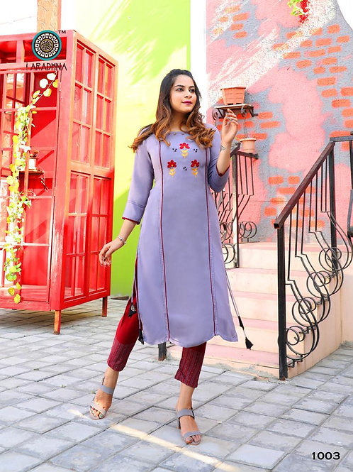 FASHION FUNDA VOL 1* *KURTI WITH PANT*