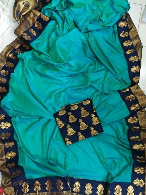 Trendy Stylish Sana Silk Women's Sarees