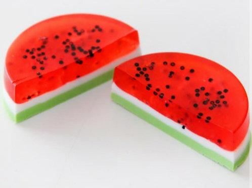 watermelon handmade soap