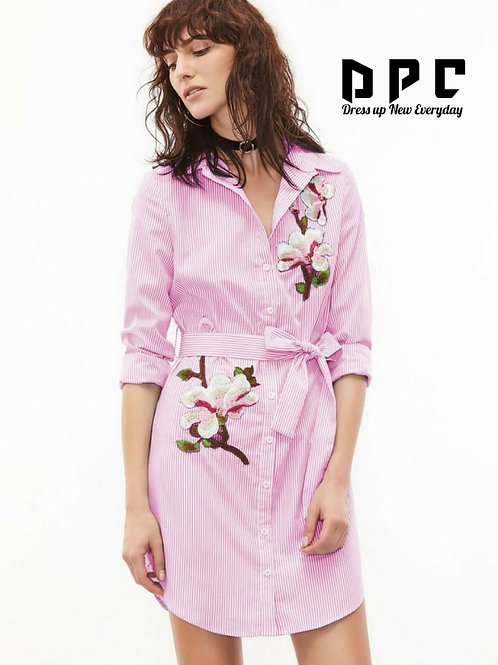 Summer Special *Tunics* with *Embroidery* and *belt on waist*