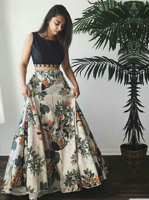 Trendy Banglori Silk Printed Partywear Lehenga Sets vol 2