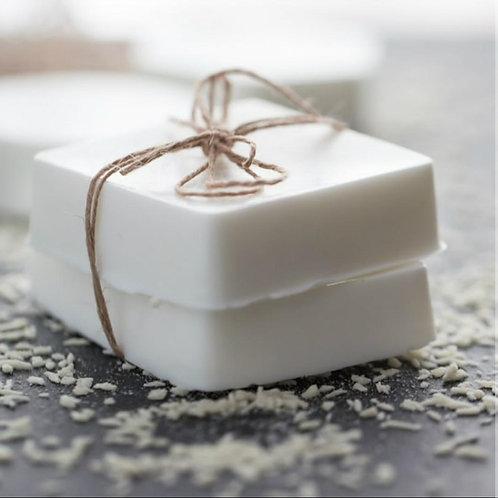 coconut shea butter handmade soap