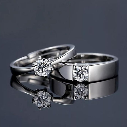 Couple rings for valentine's day