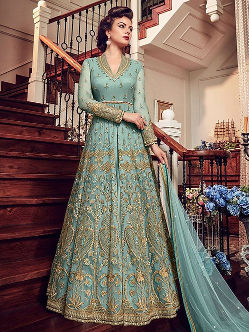 Gorgeous net suits & dress material