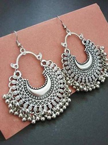 Latest Designer chaandbali oxidised earing