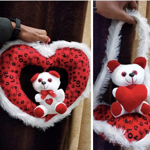 Valentine gift teddy hangings